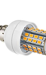 E14 5W 60x2385SMD 450-500LM 2700-3500K varm hvit LED Corn Bulb (220-240V)