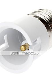 E27 til B22 LED pærer Socket Adapter