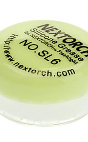 Nextorch graxa de silicone para Flashlight Manutenção (cor aleatória)