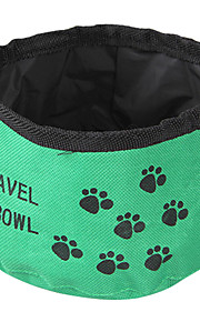 Travel Folding Bowl for Pets Dogs(Random Color)