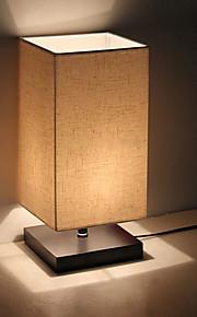 Modern Minimalistisk Solid Wood Bordlampe Bedside Lamp bordlampe