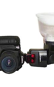 Lambency Flash Diffuser P4 til Canon 550EX 580EX II 2 Farve Dome