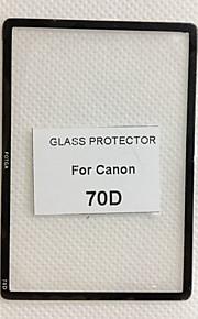 fotga® prémio LCD de vidro protetor do painel de tela para canon 70d