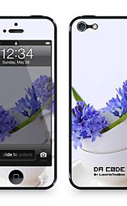"""Da Code ™ Skin voor iPhone 5/5S: """"Blue Lavendel"""" (Planten-serie)"""