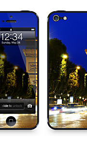 "Da koodi ™ Skin iPhone 5/5S: ""Champs Elysee at Night"" (City sarja)"