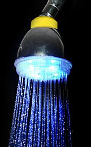 Vann drevet Blue Light LED ABS hånddusj