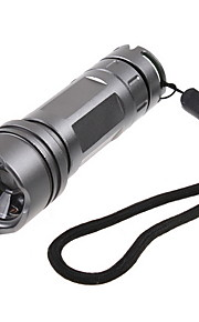 Waterproof Prata CREEQ5 Led Lanterna Camping Lanterna Tocha 180 Lumens 3-Mode