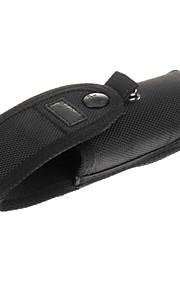 Beskyttende taske med batteri Side Pocket for C8 lommelygte (sort)