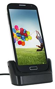 Micro USB di sincronizzazione di dati e stazione di carico Separato Battery Dock di ricarica per i9500 Samsung Galaxy S4