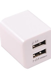 Dual USB eu adattatore di alimentazione universale per ipad 2 iphone aria 6 iphone 6 più iphone 5s / 5 ipad mini ipad 3/2/1 aria