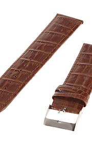 Masculino Feminino Pulseiras de Relógio Couro #(0.01) Acessórios de Relógios