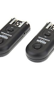 Yongnuo RF-603C sem fio flash gatilho dois transceptores para Canon/450d/500d/550d/600d/60d/1000d