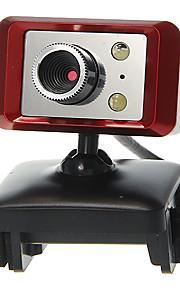 Rectangle Shaped Desktop 8 Megapixel Webcam with Mic Night Vision LED