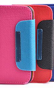 아이폰 5/5S (분류 된 색깔) 태양열 집열기 PU 가죽 가득 차있는 몸 케이스