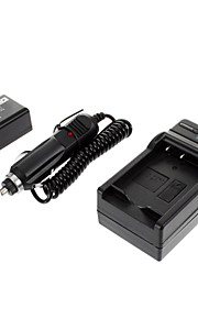 ismartdigi-Pana DMW-BMB9 895mAh, 7.2V camera batterij + autolader voor Panasonic DMC-FZ40/FZ45/FZ47/FZ48/FZ100