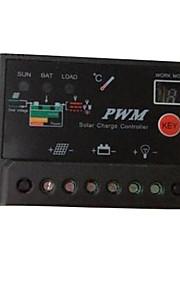 10a pwm zonnepaneel accu regelaar laadsysteem digitale controller 12v 24v autoschakelaar indoor home
