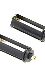 Substituição 3xAAA baterias Capa Porta-Bateria Extras para lanterna (2 PCS)