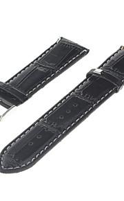 Masculino Feminino Pulseiras de Relógio Couro #(0.012) Acessórios de Relógios