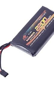 Fogo Touro 11.1V 2200mAh Alta Taxa Li-po RC Bateria para RC Avião / Barco / Carro