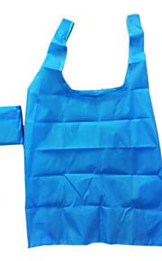 Eco-friendly impermeabile di colore solido pieghevole Shopping Bag (colore casuale)