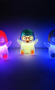 Penguin Rotocast Color skiftende Night Light (tilfeldig farge)