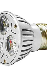 MR16 3W 1W * 3 LED 270-300LM Varm Hvit / White Light LED Spot Bulb (AC 100 - 220V)