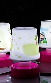 Coway klapp bordlampe soverom energisparing lampe innovasjon ledet bordlampe (tilfeldig farge)
