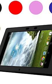 verlegen beer ™ lederen tablet beschermhoes voor de asus memo pad 10 me301t 10,1 inch