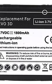1800mAh recarregável de substituição de bateria de iões de lítio para HTC EVO 3D