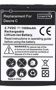 1500mAh sustitución de la batería del li-ion para HTC Desire c