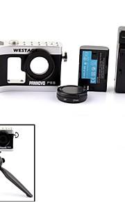 pannovo kamera abstrakt varme etui PSS multifunktionelt strømforsyning system til GoPro 3/3 +