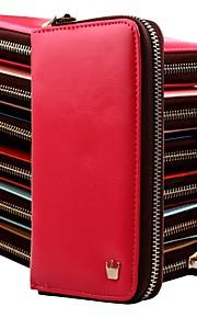 kvinners multi foreslå konvolutt lommebok vesken for iPhone og Samsung (assortert farge)