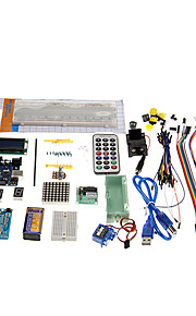 KT0001 R3 UNO Starter Learning Kit for Official Arduino Boards Multicolored