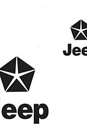World War 2 The Five-star Flag Pentagram Car Stickers (S=14x13cm)