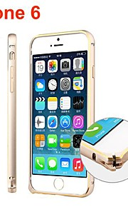 Ultra Slim Aluminum Alloy Bumper Frame Cover for iPhone 6 (Assorted Colors)