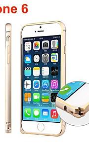 아이폰 6 (모듬 색상)에 대한 울트라 슬림 알루미늄 합금 범퍼 프레임 커버