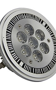 GU10 7 W 7 Høyeffekts-LED 700LM LM Varm hvit AR Dimbar Spotlys AC 220-240/AC 110-130 V