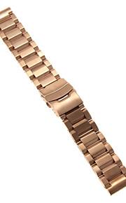 Masculino / Feminino Pulseiras de Relógio Aço Inoxidável #(0.09) #(22 x 2.2 x 0.3)