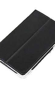 beschermende pu lederen harde full body case voor de vido n70 3g met screen protector 3-kleuren