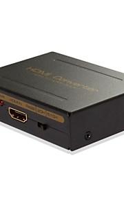 entrada HDMI HD1080p completo para r / l adaptador conversor de saída de descodificador de áudio HDMI spdif, apoiar 5.1 / 7.1 com áudio