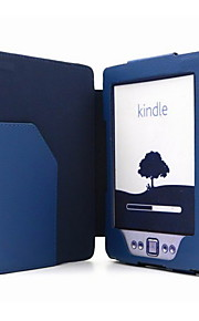 Protective Magnetic PU Leather Case for Kindle 4/Kindle 5
