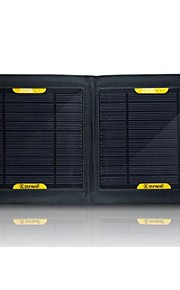 USB Output 7W Foldable Portable Solar External Battery Charger for Samsung Nokia Sony HTC etc