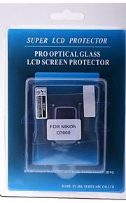 protetor de tela LCD profissional de vidro óptico especial para câmera Nikon D7000 DSLR