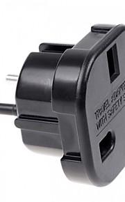 UK to EU AC Power Travel Plug Adapter Socket Converter 10A/16A 240V