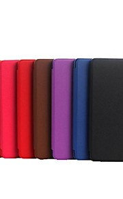 PU Leather Case with Magnetic Buckle for Amazon New Kindle (2014)  (Assorted Colors)