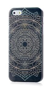 aztec mönster lyser i mörkret hårda fallet för iphone 4 / 4s