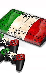 B-Skin® PS3 Slim 4000 Console Protective Sticker Cover Skin Controller Skin Sticker