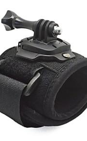 360 Degree Rotation Arm Band Wrist Strap w/ Screw for GpPro Hero 3+ / 3 / 2 / 1