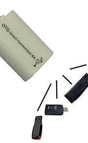 Mikro Usb Host Han Til Usb Kvindelige Otg Adapter Android Tablet Pc Og Telefon