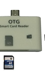 2in1 USB OTG Connection Kit Adapter SD TF Card Reader for Samsung Galaxy